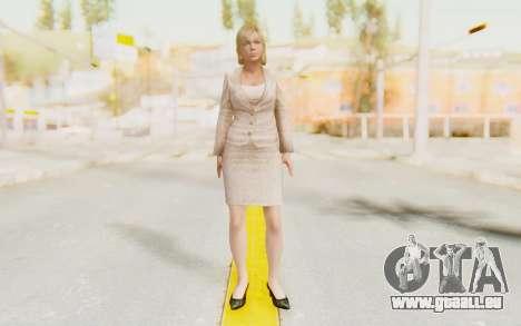Dead Rising - Jessica McCartney für GTA San Andreas zweiten Screenshot