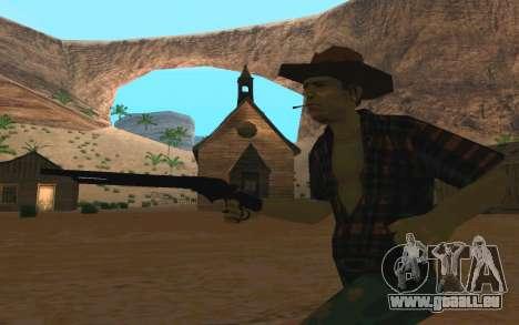 Winchester Model 1887 für GTA San Andreas zweiten Screenshot