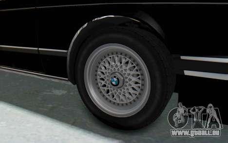 BMW M635 CSi (E24) 1984 IVF PJ3 pour GTA San Andreas vue arrière