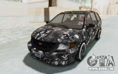 GTA 5 Vapid Minivan Custom für GTA San Andreas