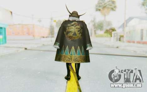 Sengoku Musou 4 - Date Masamune pour GTA San Andreas troisième écran