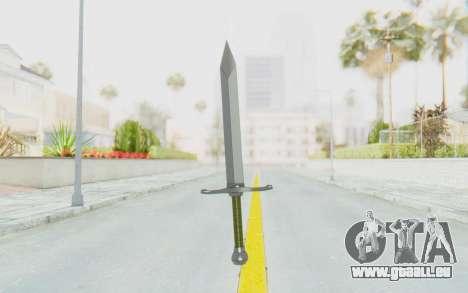Trunks Del Futuro Katana pour GTA San Andreas troisième écran