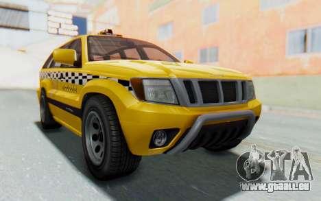 Canis Seminole Taxi pour GTA San Andreas