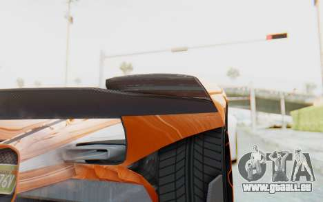 GTA 5 Grotti Prototipo v1 IVF pour GTA San Andreas vue intérieure