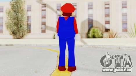 Mario pour GTA San Andreas troisième écran