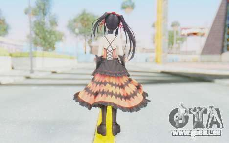Kurumi Tokisaki (Date A Live) pour GTA San Andreas troisième écran
