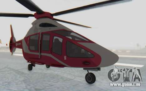 GTA 5 Buckingham Volatus v2 für GTA San Andreas rechten Ansicht