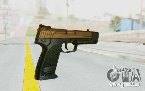 HK USP 45 Sand Frame pour GTA San Andreas deuxième écran