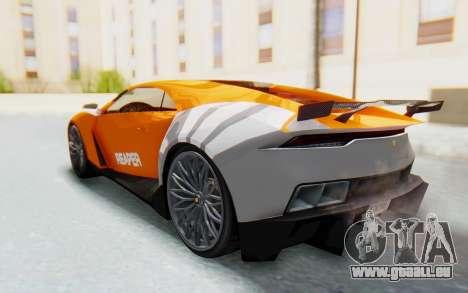 GTA 5 Pegassi Reaper SA Lights pour GTA San Andreas vue intérieure