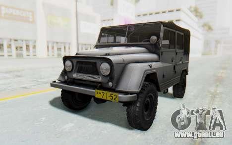 UAZ-460Б pour GTA San Andreas