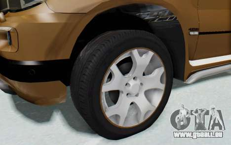 BMW X5 Pickup für GTA San Andreas Rückansicht