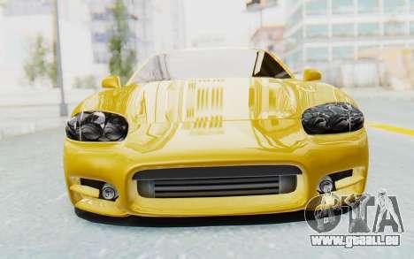 Mitsubishi 3000GT 1999 pour GTA San Andreas vue intérieure