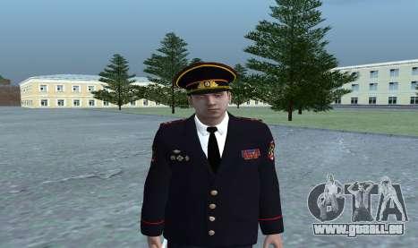 General des Ministeriums für GTA San Andreas