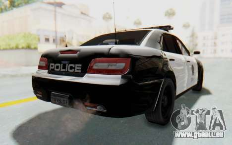 ASYM Desanne XT Pursuit v1 für GTA San Andreas linke Ansicht