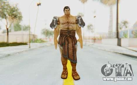 Hercules Skin v3 pour GTA San Andreas deuxième écran