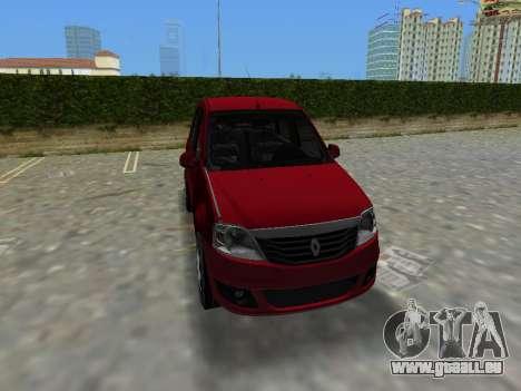 Renault Logan für GTA Vice City