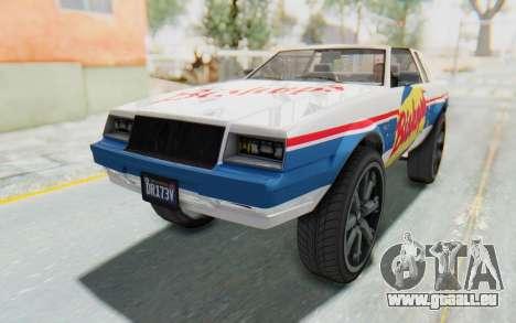 GTA 5 Willard Faction Custom Donk v2 für GTA San Andreas Innen