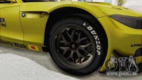 BMW Z4 Liberty Walk für GTA San Andreas Rückansicht