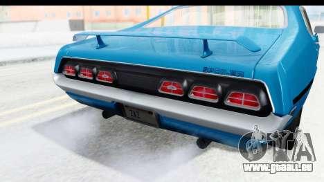 Mercury Cyclone Spoiler 1970 für GTA San Andreas Seitenansicht