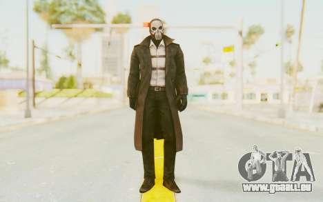 Marvel Future Fight - Punisher (Noir) pour GTA San Andreas deuxième écran