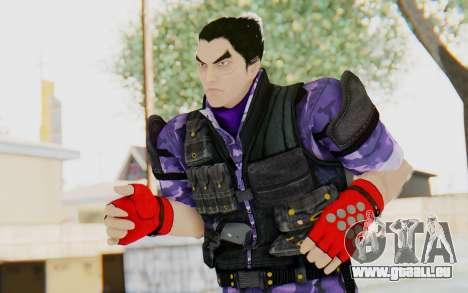 Kazuya Mishima (Ops Suit) für GTA San Andreas