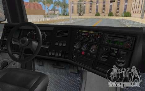 GTA 5 HVY Brickade IVF für GTA San Andreas obere Ansicht