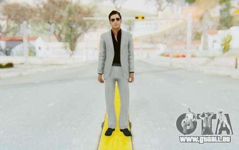 Mafia 2 - Vito Scaletta Madman Suit W&B pour GTA San Andreas deuxième écran