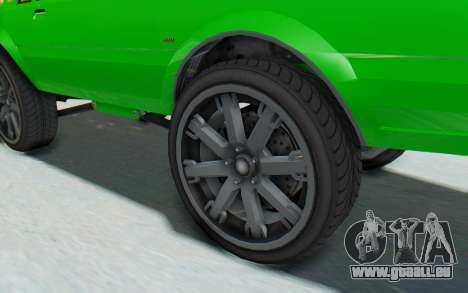 GTA 5 Willard Faction Custom Donk v3 pour GTA San Andreas vue arrière