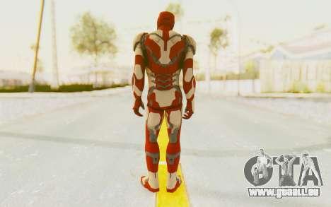 Marvel Heroes - Ironman Mk42 pour GTA San Andreas troisième écran