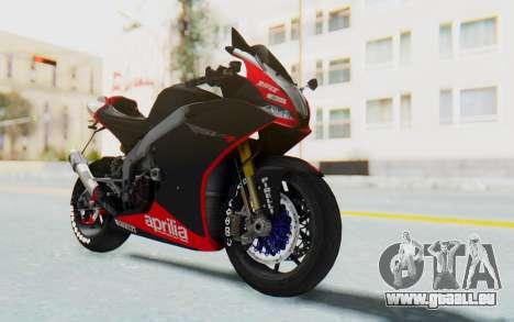 Aprilia RSV4 StreetRace pour GTA San Andreas