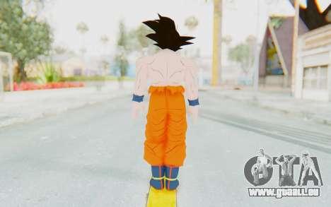 Dragon Ball Xenoverse Goku Shirtless SJ pour GTA San Andreas troisième écran