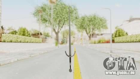 The Witcher 3: Wild Hunt - Sword v2 pour GTA San Andreas deuxième écran
