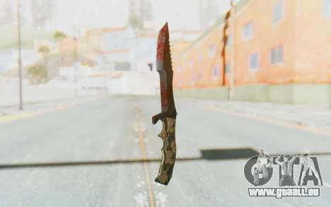 Huntsman Knife für GTA San Andreas