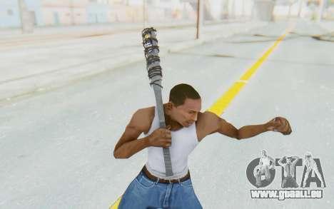 Lucile Bat v1 pour GTA San Andreas troisième écran