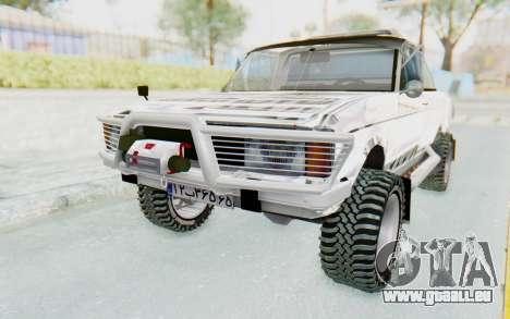 Ikco Super Peykan Pickup für GTA San Andreas
