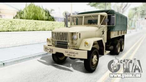 AM General M35A2 Sand pour GTA San Andreas