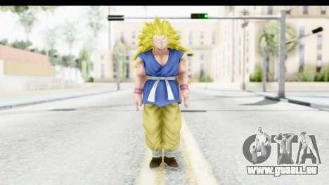 Dragon Ball Xenoverse Goku GT Adult SSJ3 pour GTA San Andreas deuxième écran