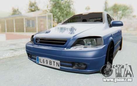 Opel Bertone pour GTA San Andreas vue de droite