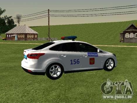 Ford Focus ДПС für GTA San Andreas rechten Ansicht