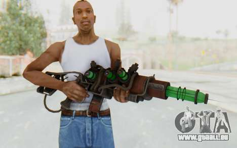Q-35 Matter Modulator Plasma Rifle für GTA San Andreas dritten Screenshot