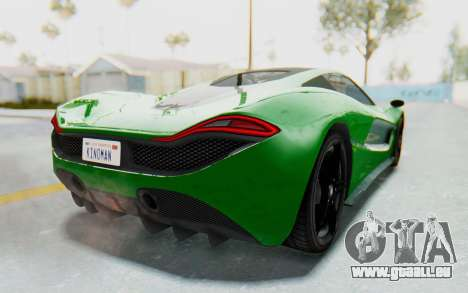 GTA 5 Progen T20 Devil PJ für GTA San Andreas linke Ansicht