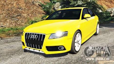 Audi A4 2009 pour GTA 5