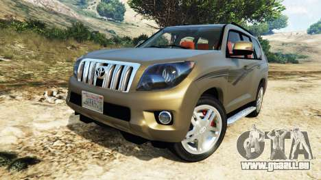 GTA 5 Toyota Land Cruiser Prado 2012 Lenkrad