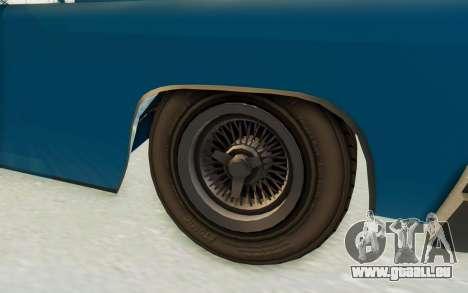GTA 5 Declasse Voodoo PJ für GTA San Andreas Rückansicht