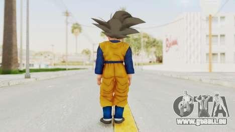 Dragon Ball Xenoverse Goten SJ pour GTA San Andreas troisième écran
