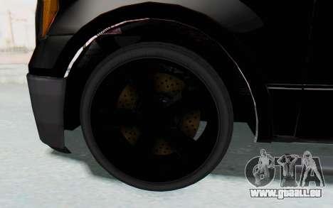 Ford F-150 JDM für GTA San Andreas Rückansicht