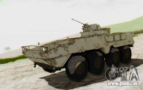 MGSV Phantom Pain STOUT IFV APC Tank v2 pour GTA San Andreas