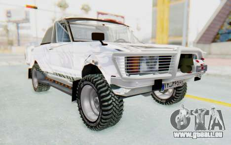 Ikco Super Peykan Pickup für GTA San Andreas rechten Ansicht