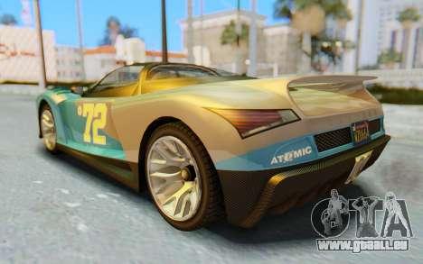 GTA 5 Grotti Cheetah SA Lights pour GTA San Andreas moteur