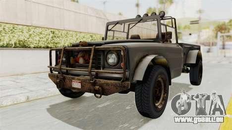 GTA 5 Canis Bodhi Trevor IVF pour GTA San Andreas vue de droite